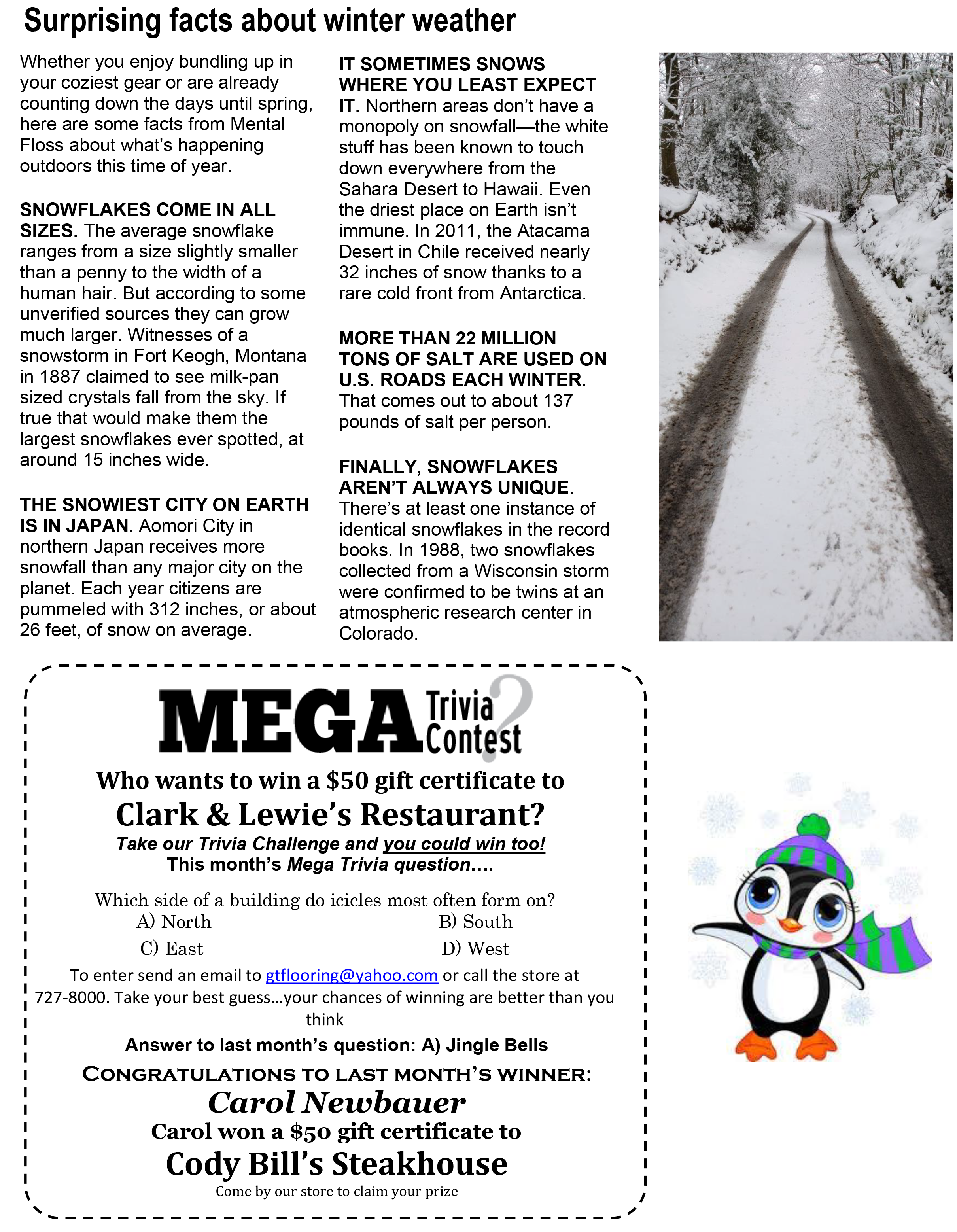 January Issue of The Neighborhood Adviser - Page 2