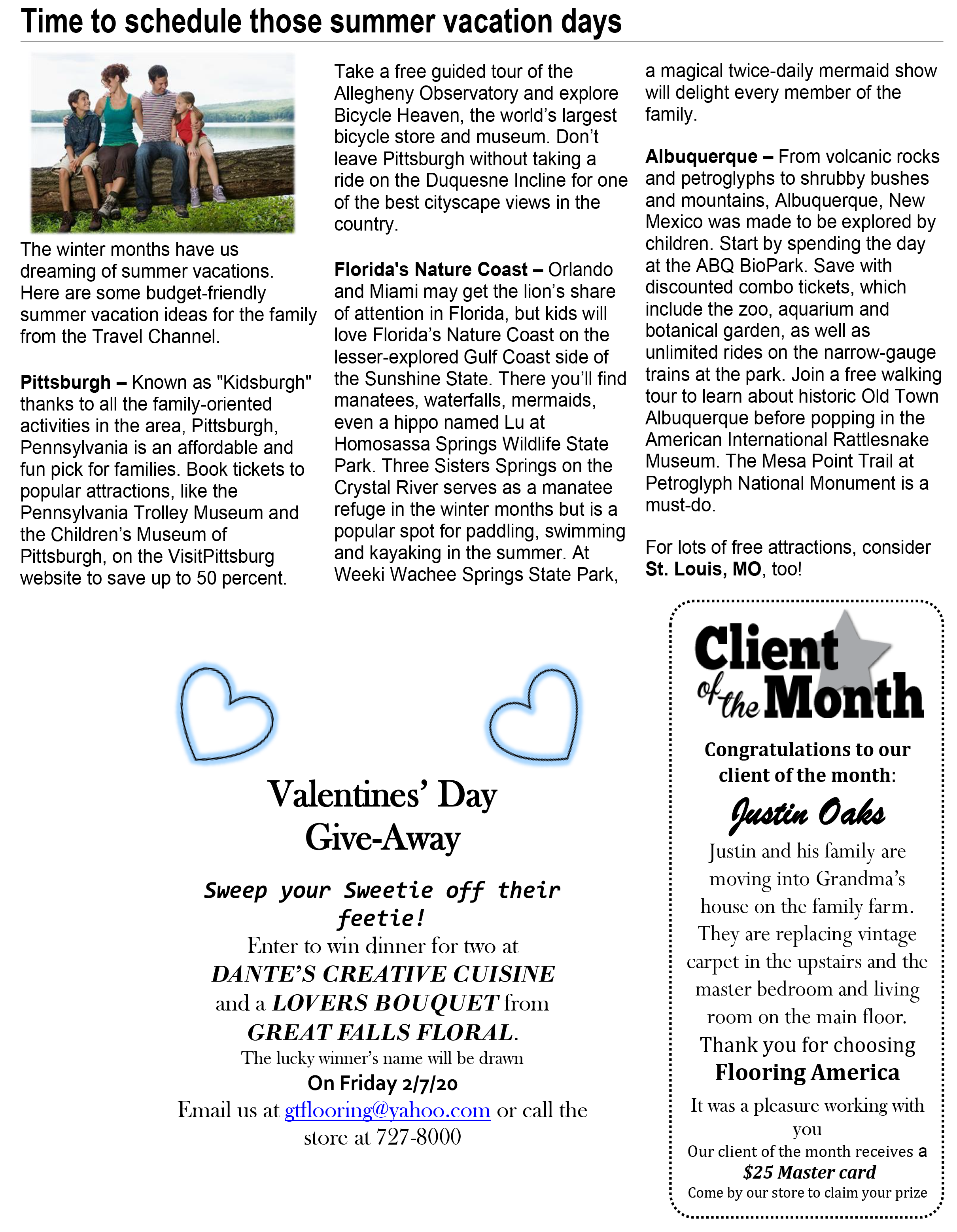 January Issue of The Neighborhood Adviser - Page 3